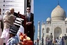 Photo of आगरा पहुंचे ट्रम्प, हुआ भव्य स्वागत