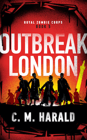 Outbreak London cover