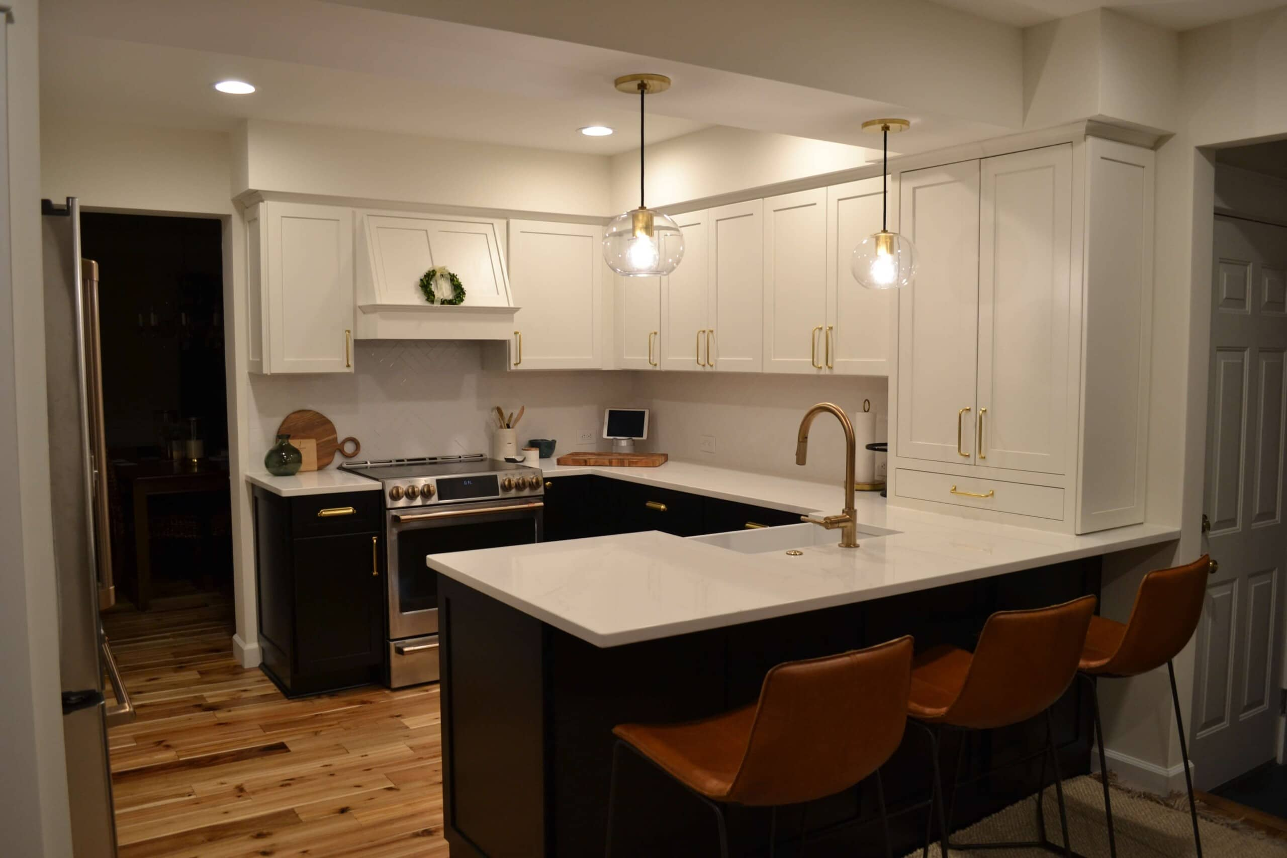 custom kitchen cabinets in a Fairless Hills