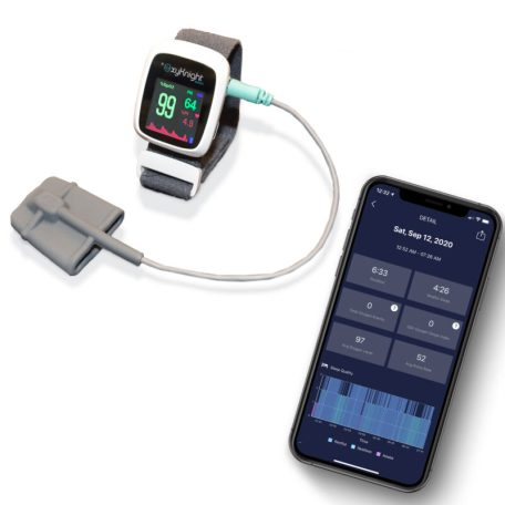 OxyKnight Wrist Watch and Compatible Mobile App