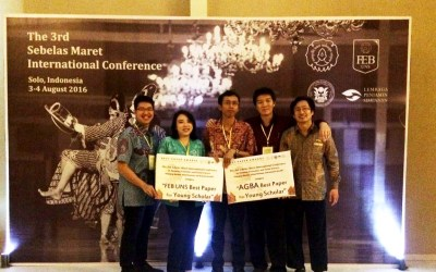 Best Papers at The 3rd Sebelas Maret International Conference 2016