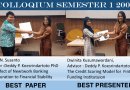 Best Paper and Best Presenter at Semester 1 2018 SBM ITB Colloqium
