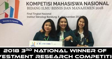 Tarlte Team Wond 3rd Place on National Investment Research Competition