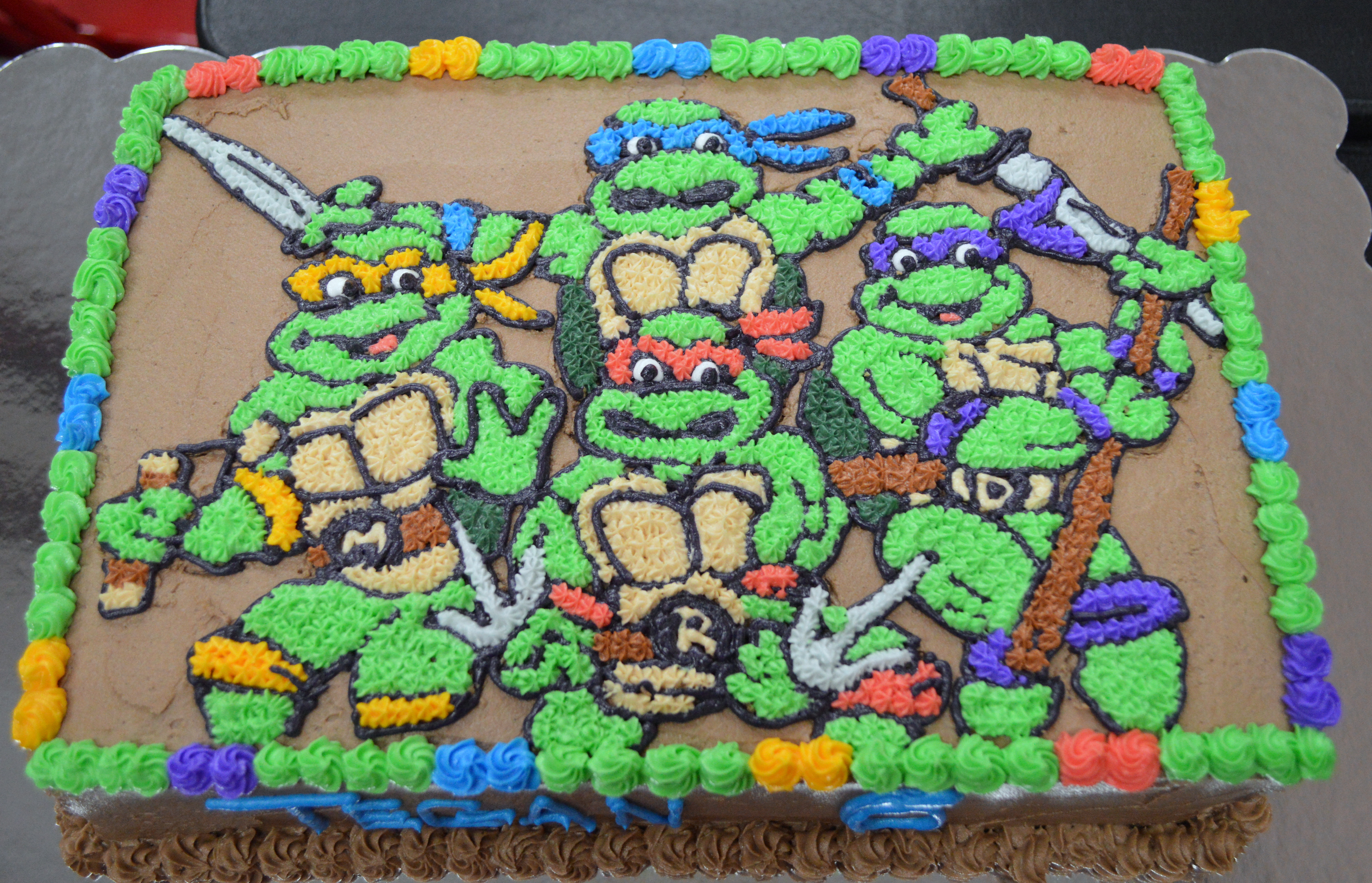 Little Turtle Cake Ideas And Designs