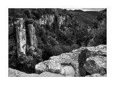 Stone monoliths at Sot del Bac