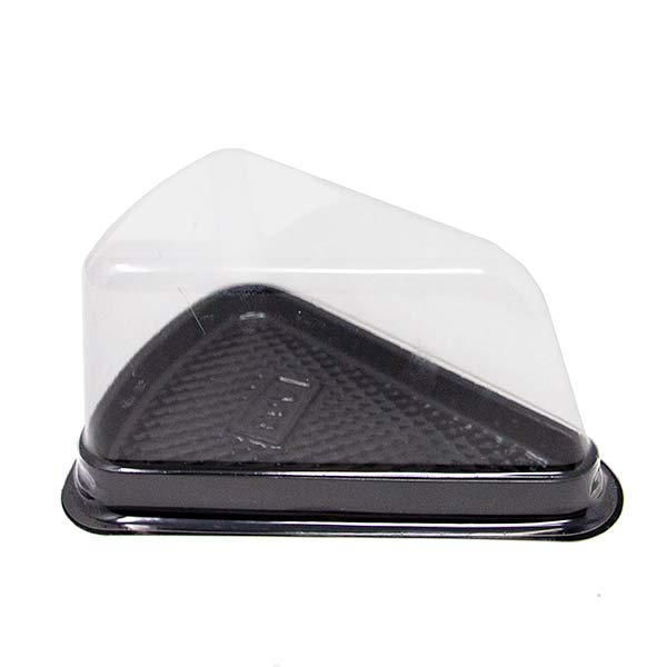 Cake Slice Tray With Lid for Bakery To Go Cakes