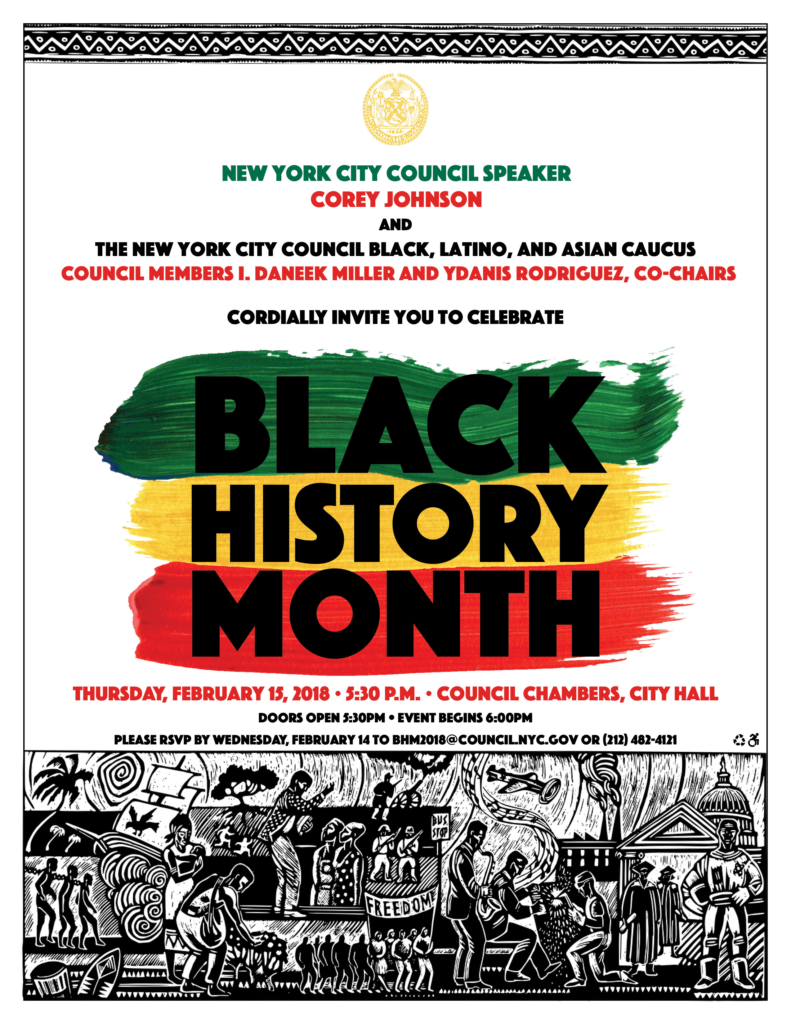 2 15 Event Celebrate Black History Month With The New