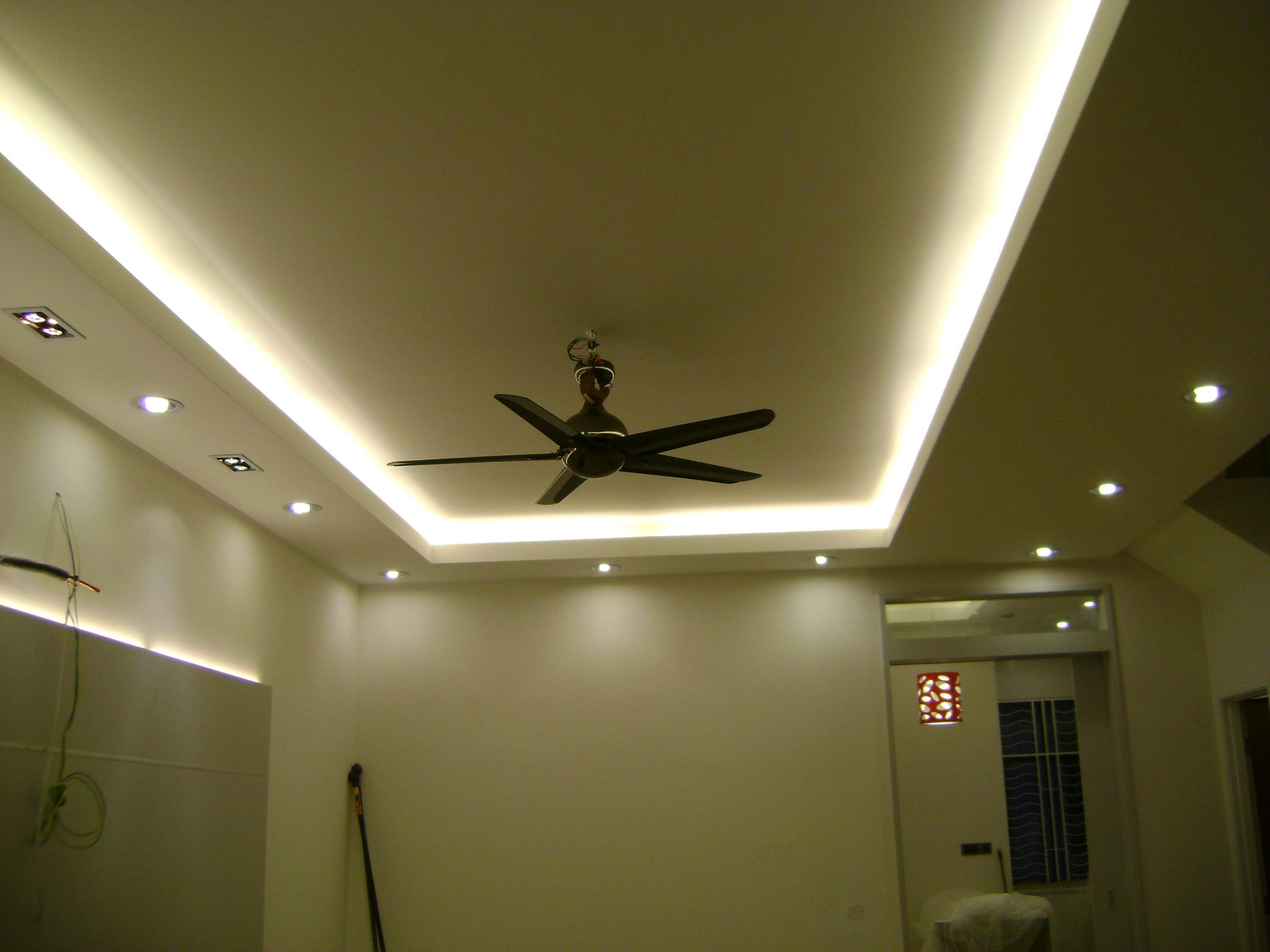 False Ceiling With Hidden Lights