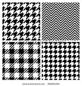 stock-vector-set-of-four-fashion-patterns-houndstooth-chevron-plaid-patterns-vector-version-268591262