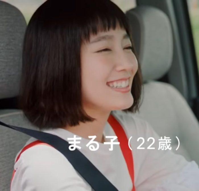 トコットCM女優|実写化ちびまる子ちゃん役のダイハツCMの女性は誰?