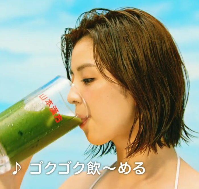 柳ゆり菜 青汁 CM