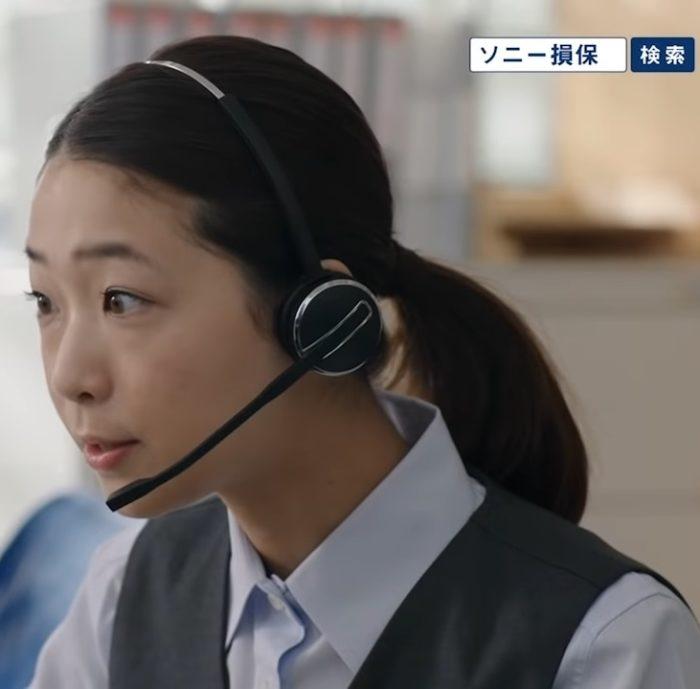 槙乃萌美 ソニー損保 CM