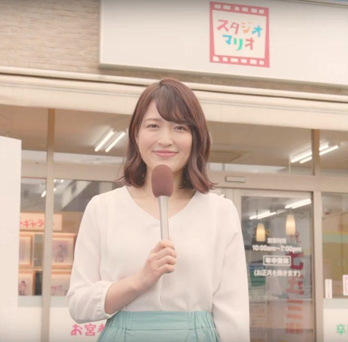小熊美香 スタジオマリオ CM