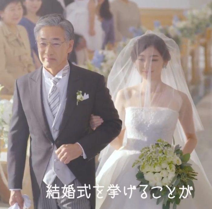 野田萌 家族挙式ベスト CM
