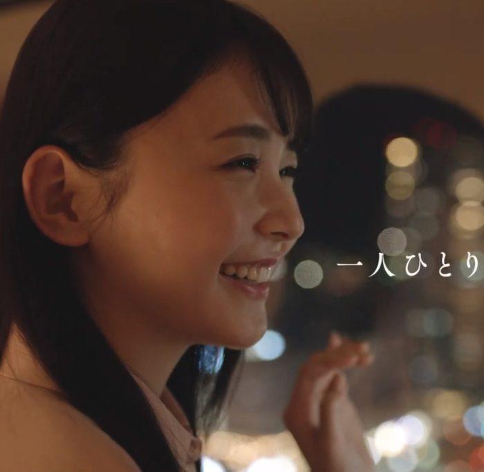 久間田琳加 JR西日本 CM