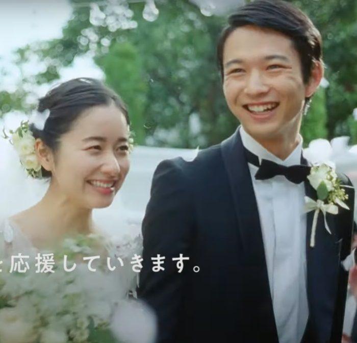 堀田真由 鈴木仁 ゼクシィ CM