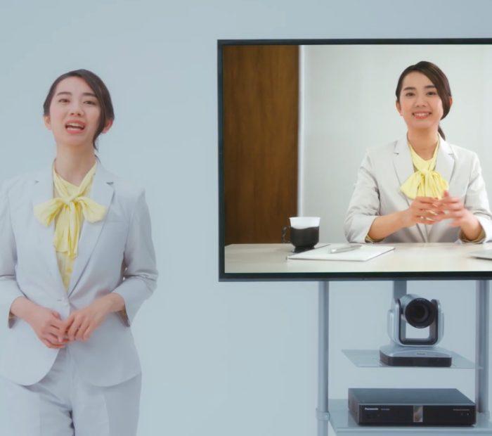 白石愛海 東通インテグレート CM
