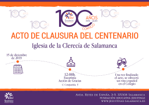 Centenario Jesuitinas Salamanca