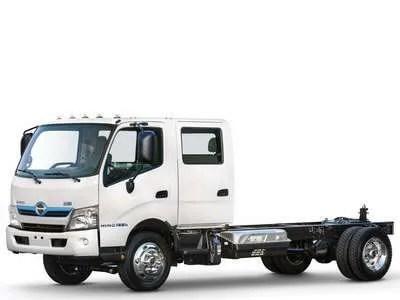 Hino 195hDC Cab-Over Hybrid