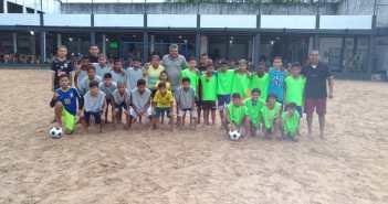 Câmara no Projeto Futebol na Comunidade