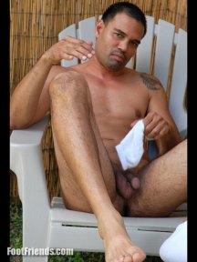 naked gay feet