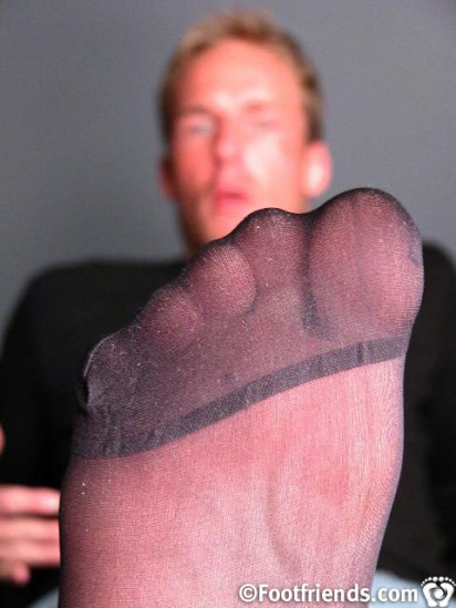 male nylon toes