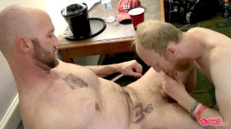 gay sucking cock