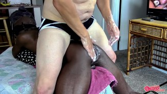 black gay anal