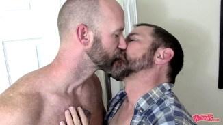 gay kissing