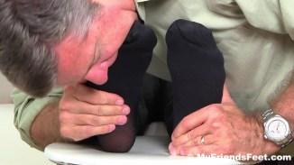 gay feet in socks