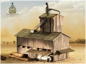 Sawmill model
