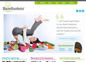 Barefooters website
