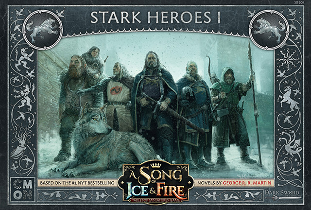Image result for a song of ice and fire tabletop miniatures game stark heroes