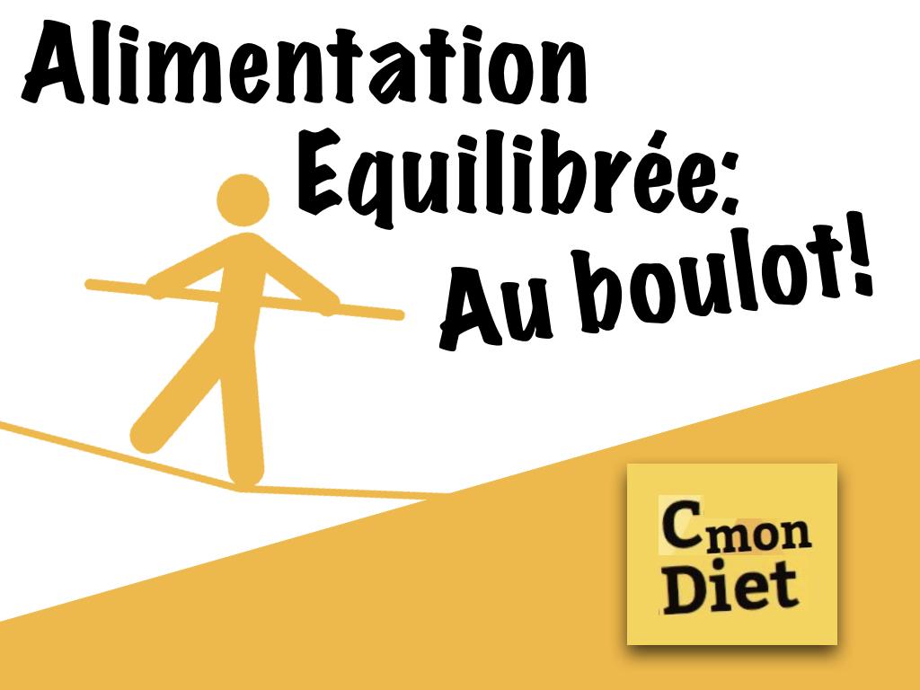 Alimentation Equilibrée au Boulot!