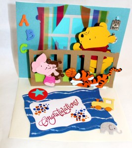 Get Crafty with Cards: Pop-Up Card with Winnie the Pooh