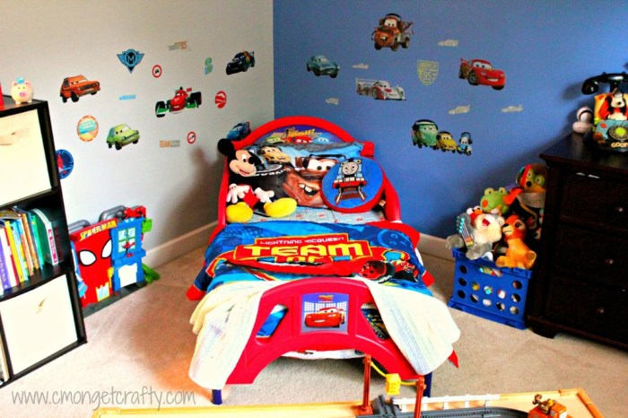 Disney pixar cars bedroom ideas your kids will love for Disney cars bedroom ideas