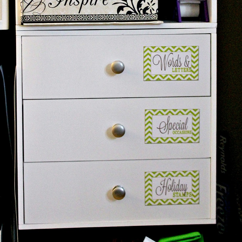 Organizing Craft Storage