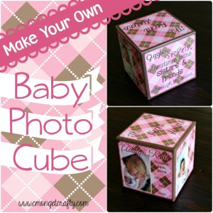Baby Series: Baby Photo Cube