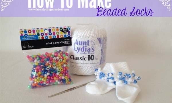 How to Make Beaded Socks