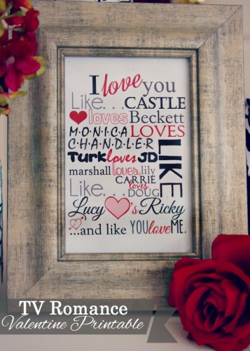 I Love You Like Free Printable