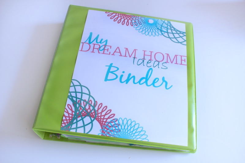 My Dream Home Binder Pretty Printables C 39 Mon Get Crafty