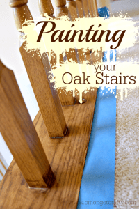 Painting Oak Stairs for a Fresh Update