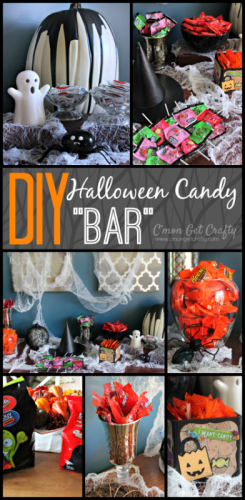 DIY Halloween Candy Bar