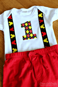 DIY Disney Birthday Outfit {and a FREE printable!!}