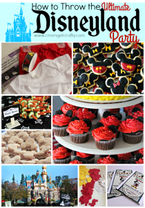Host the Ultimate Disneyland Themed Birthday { with Printable Invitations!}