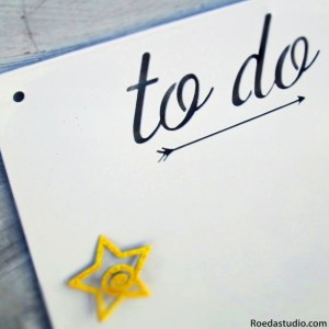 To Do Board by Carol Roeda Studio {and a Giveaway!!}