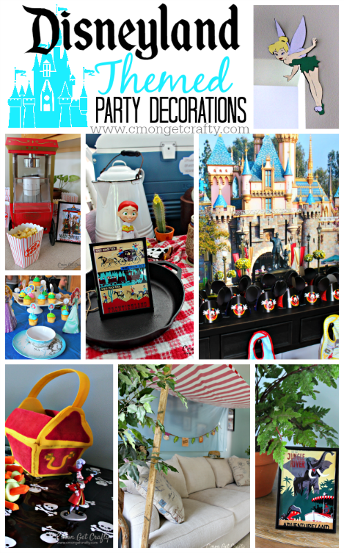 Disney Party Ideas. For nearly a century, Disney has been a favorite among kids and grown-ups alike. And it's no wonder. Browse our list of ideas below on Disney theme parties for the hottest kids party ever! Ariel Little Mermaid Theme Party. Camp Rock Birthday Party. Disney Cars Party.