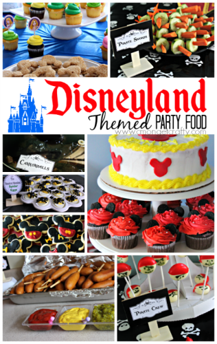 Disneyland Themed Party Food Ideas