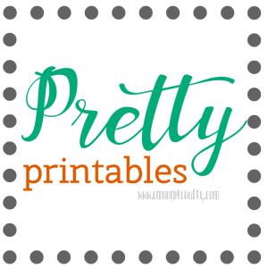 Blog Organization in  2016: Pretty Printables