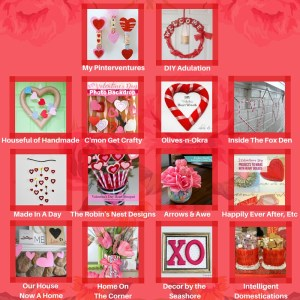 DIY Valentine's Photo Backdrop